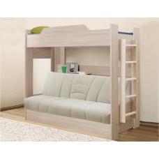 Двухъярусная кровать с диван-кроватью  Боровичи