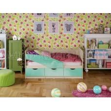 Кровать детская Бабочки глянец  Миф