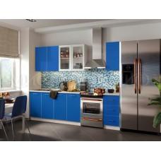 Кухня Фортуна синяя ЛДСП  Миф