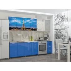 Кухня фотопечать Париж МДФ Миф