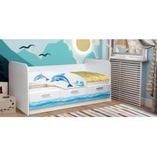 Кровать Дельфин,черепаха Олмеко